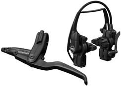Magura HS11 Black 3-finger For Left/Right EVO2 Mounting System - Single Brake