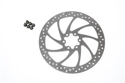 Product image for Magura Disc Brake Rotor 6 Hole With Mounting Bolts
