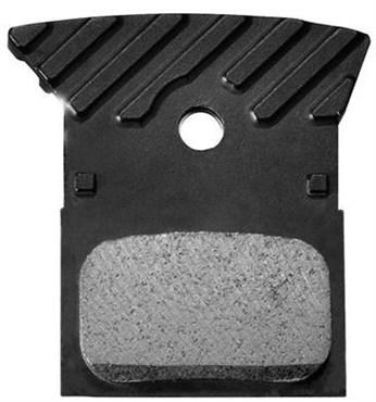 Shimano L02A Disc Brake Pads, Alloy Backed with Cooling Fins