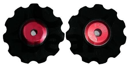 C-bear Delrin Thermoplastic Ceramic Jockey Wheel Shimano/sram 10-11 Spd