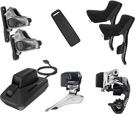 SRAM Red eTAP Electronic HRD Wireless Disc Brake Groupset | Geargrupper