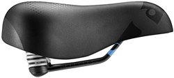 Sportourer Zeta Comfort Gel FEC Alloy Soft Touch Saddle