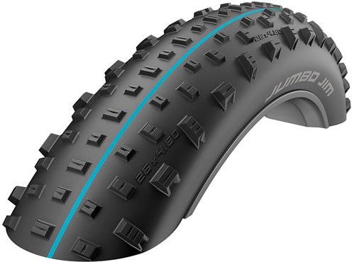 "Schwalbe Jumbo Jim Addix Speedgrip Snakeskin TL 26"" Fat Bike Tyre"