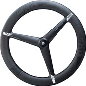 Pro 3K Carbon 3-Spoke Tubular Front Road Wheel