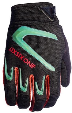 SixSixOne 661 Rage Long Finger MTB Cycling Gloves