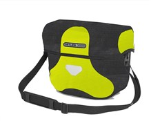 Ortlieb Ultimate 6 High Visibility Handlebar Bag With Magnetic Lid