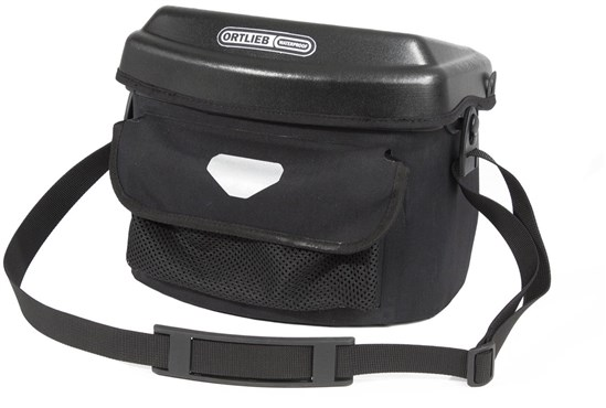 Ortlieb Ultimate 6 M Pro Electronics Handlebar Bag With Magnetic & Transparent Lid