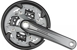 Product image for Shimano FC-M4000 Alivio Octalink Chainguard Chainset