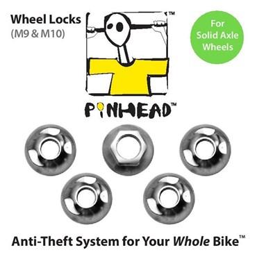 Pinhead Solid Axle Wheel Locks Pair