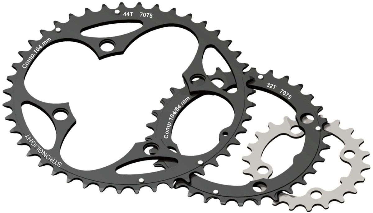 Stronglight 4-Arm/104mm Chainring 34T With Pins | chainrings_component