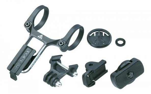 Topeak Ridecase Centre Mount With Sports Camera & Gear Adapters | Kameraer