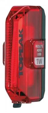 Topeak Redlite Aero USB Rechargeable Rear 1W Light