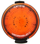 Product image for Cateye Wearable X Rear Rechargeable Light