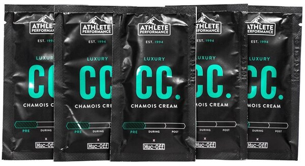 Muc-Off Athlete Performance - Chamois Cream 10ml (5 pack) | Personlig pleje