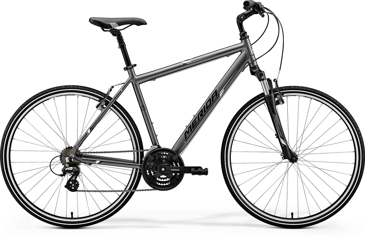 Merida Crossway 10-V 2018 - Hybrid Sports Bike | City