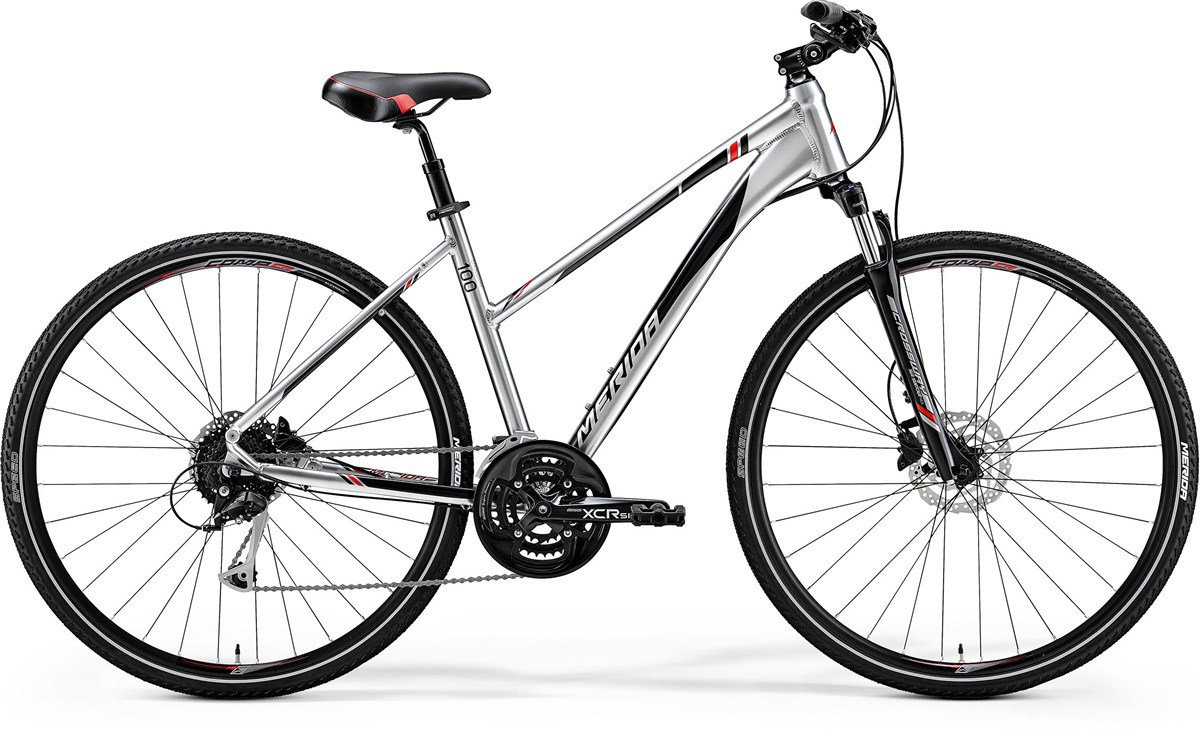 Merida Crossway 100 Womens 2018 - Hybrid Sports Bike | City