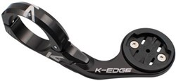 K-Edge Pro Aero mount for Garmin Edge 20, 25, 520, 820- 35.0mm