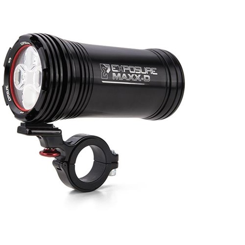 Exposure MaXx-D Mk10 Rechargeable Front Light With QR Bracket - 3200 Lumens