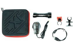 Exposure Diablo Mk9 Rechargeable Front Light With TAP Technology - 1400 Lumens