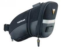 Product image for Topeak Aero Wedge Quick Clip Saddle Bag - Medium