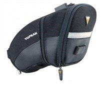 Topeak Aero Wedge Quick Clip Saddle Bag - Large