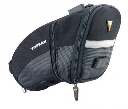 Topeak Aero Wedge Quick Clip Saddle Bag - Large