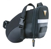 Product image for Topeak Aero Wedge Saddle Bag With Straps - Large