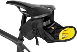 Topeak Aero Wedge Saddle Bag With Straps - Large