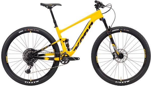 Kona Hei Hei CR/DL 29er Mountain Bike 2018 - Trail Full Suspension MTB