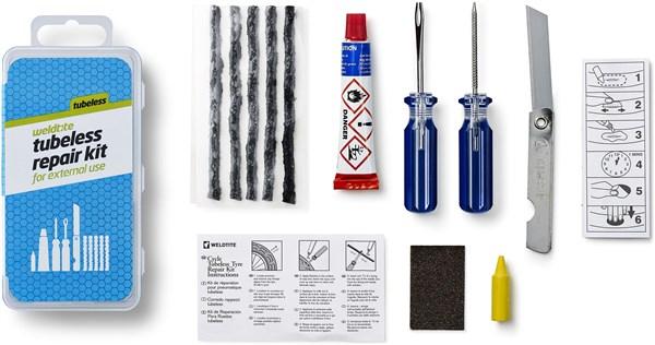 Weldtite Tubeless Repair Kit | Lappegrej og dækjern