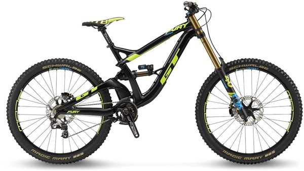 "GT Fury Team 27.5"" Mountain Bike 2018 - Downhill Full Suspension MTB"