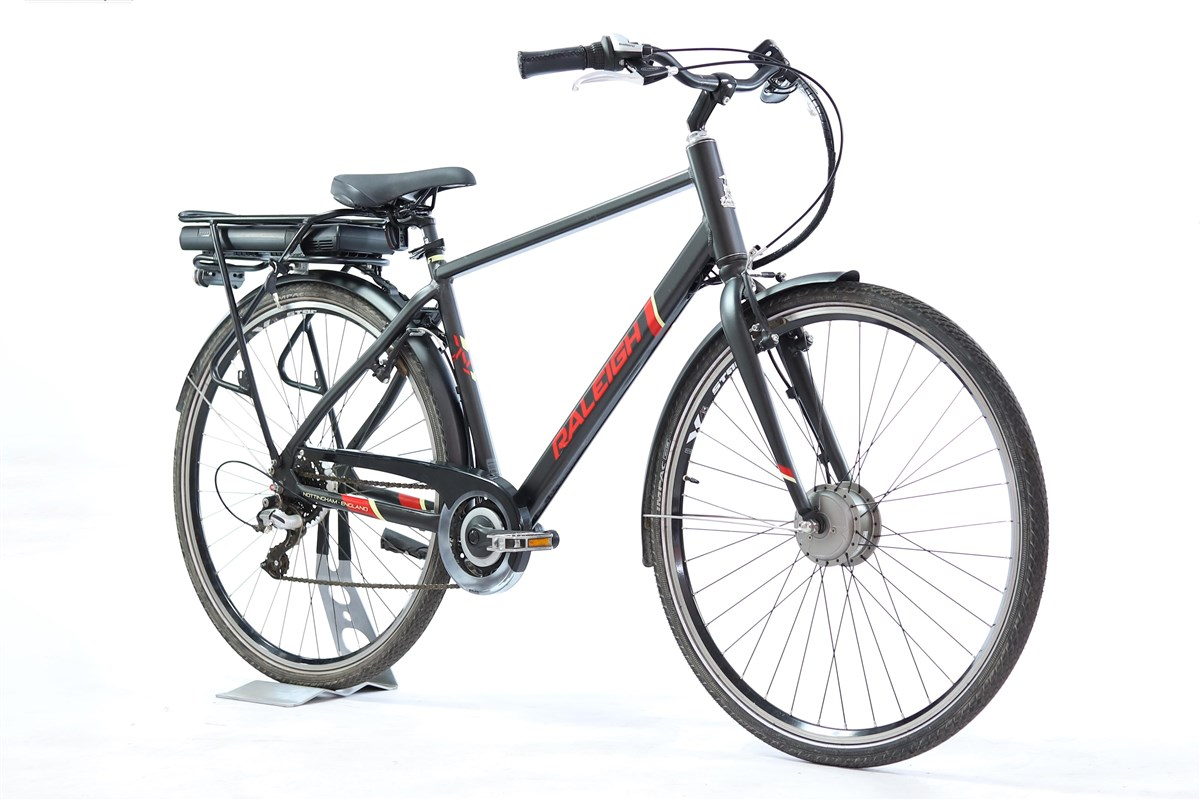 Raleigh Array E-Motion Crossbar 700c - Nearly New - M 2018 - Electric Hybrid Bike | City