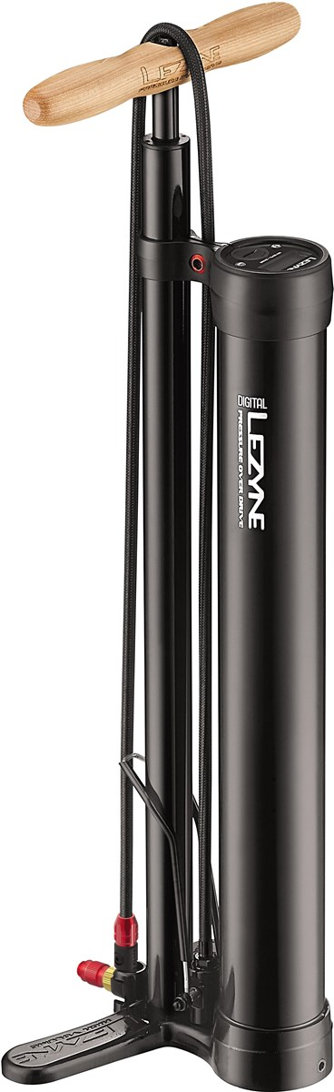 Lezyne Digital Pressure Over Drive Tubeless Floor Pump