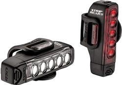 Product image for Lezyne Strip Drive 300/150 Light Set