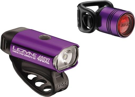 Lezyne Hecto Drive 400XL / Femto Light Set