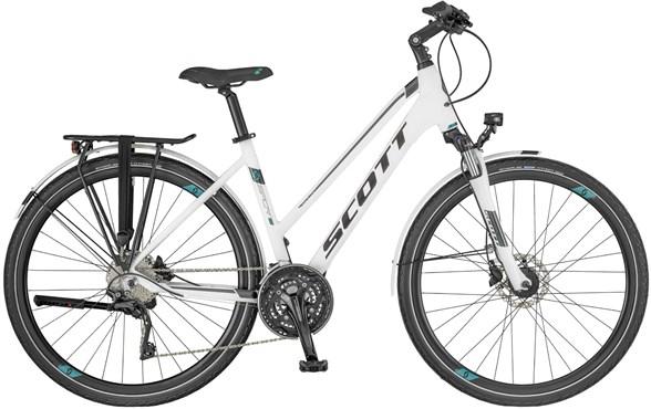 Scott Sub Sport 10 Womens 2018 - Hybrid Sports Bike