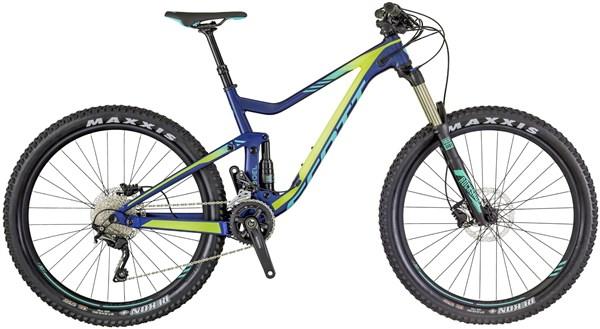 """Scott Contessa Genius 730 27.5"""" Womens Mountain Bike 2018 - Enduro Full Suspension MTB"""