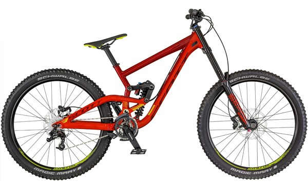 "Scott Gambler 730 27.5"" Mountain Bike 2018 - Downhill Full Suspension MTB"