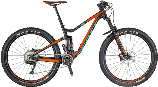 "Scott Genius 730 27.5"" Mountain Bike 2018 - Enduro Full Suspension MTB"
