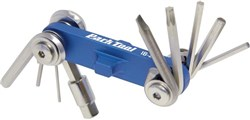 Product image for Park Tool IB2C I-Beam Mini Fold-up Hex Wrench Screwdriver / Star Shaped Wrench Set