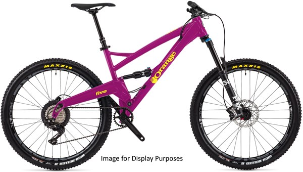 "Orange Five Pro 27.5""  Mountain Bike 2018 - Trail Full Suspension MTB"