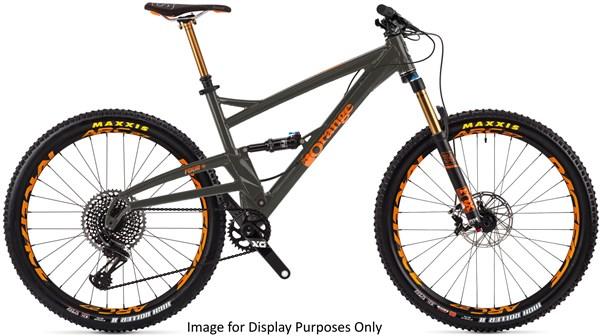 "Orange Four Factory 27.5""  Mountain Bike 2018 - Trail Full Suspension MTB"