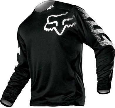 Fox Clothing Blackout Youth Long Sleeve Jersey