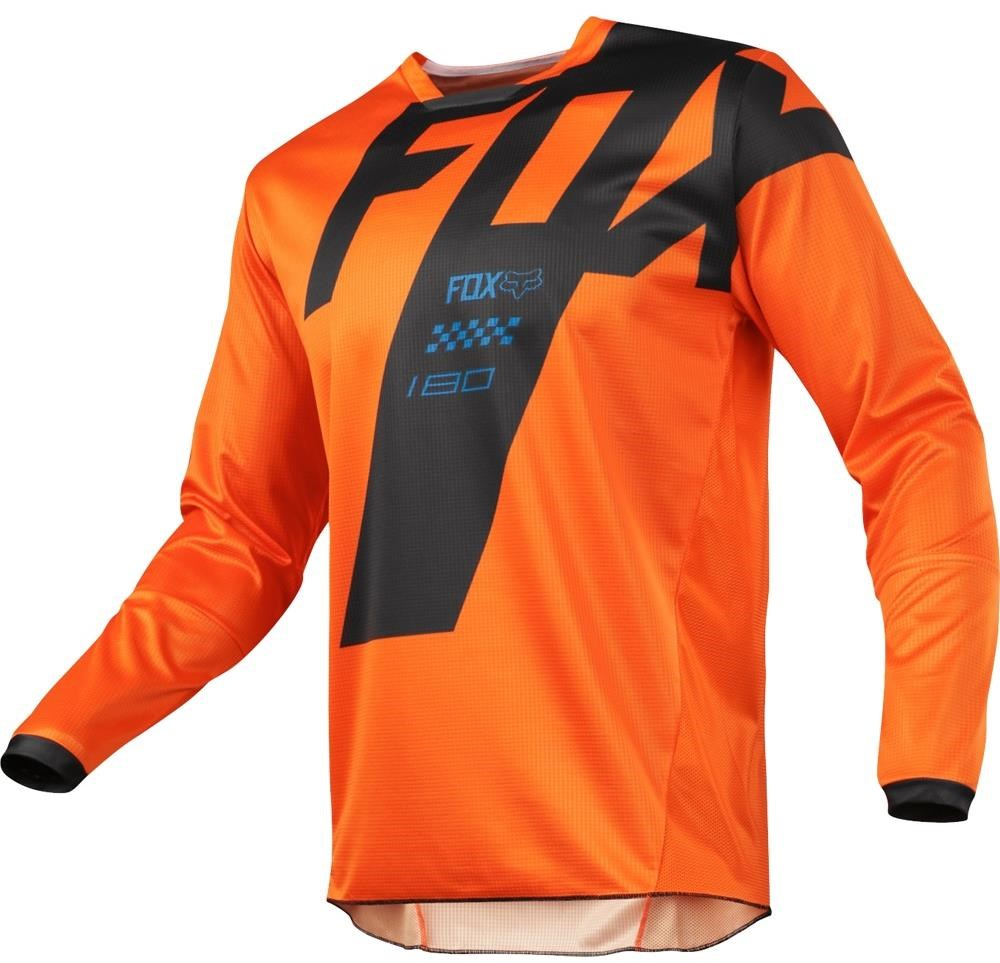 Long Sleeve Bright Orange Kids Jersey
