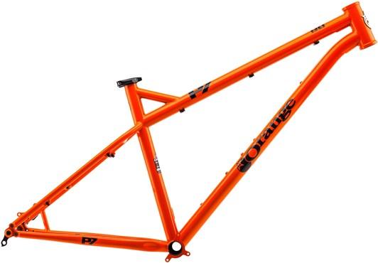 "Orange P7 27.5"" Frame"