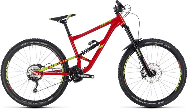 "Cube Hanzz 190 Race 27.5"" Mountain Bike 2018 - Enduro Full Suspension MTB"