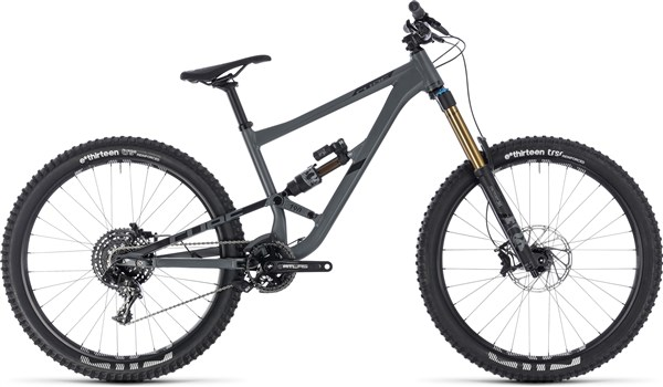 "Cube Hanzz 190 TM 27.5"" Mountain Bike 2018 - Enduro Full Suspension MTB"