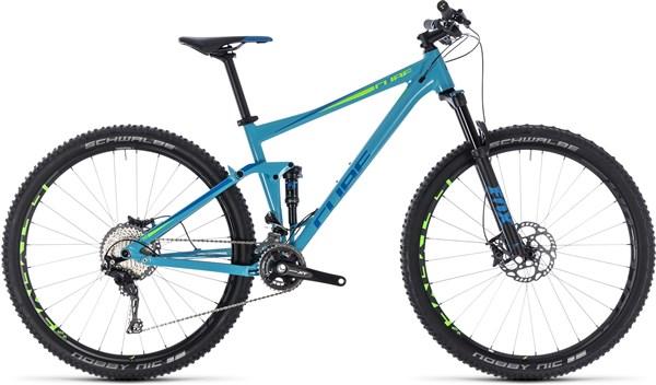 "Cube Stereo 120 Race 27.5"" Mountain Bike 2018 - Trail Full Suspension MTB"