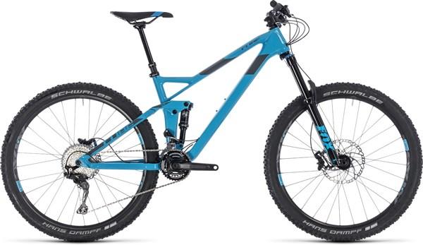 "Cube Stereo 140 HPC Race 27.5"" Mountain Bike 2018 - Trail Full Suspension MTB"