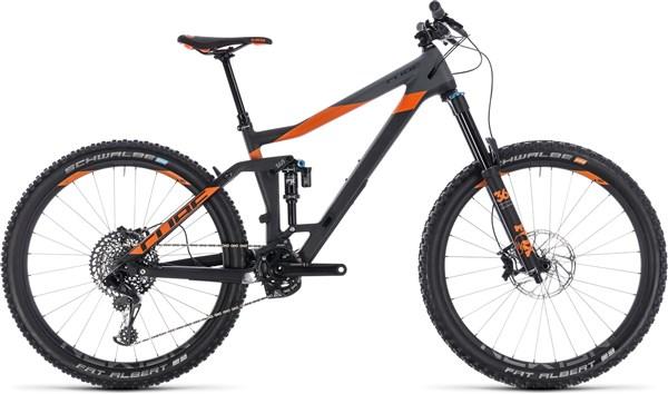 "Cube Stereo 160 C:62 TM 27.5"" Mountain Bike 2018 - Enduro Full Suspension MTB"